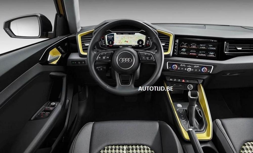Audi A1 2019 lộ diện, sẵn sàng đấu với Mercedes-Benz A-Class 5.