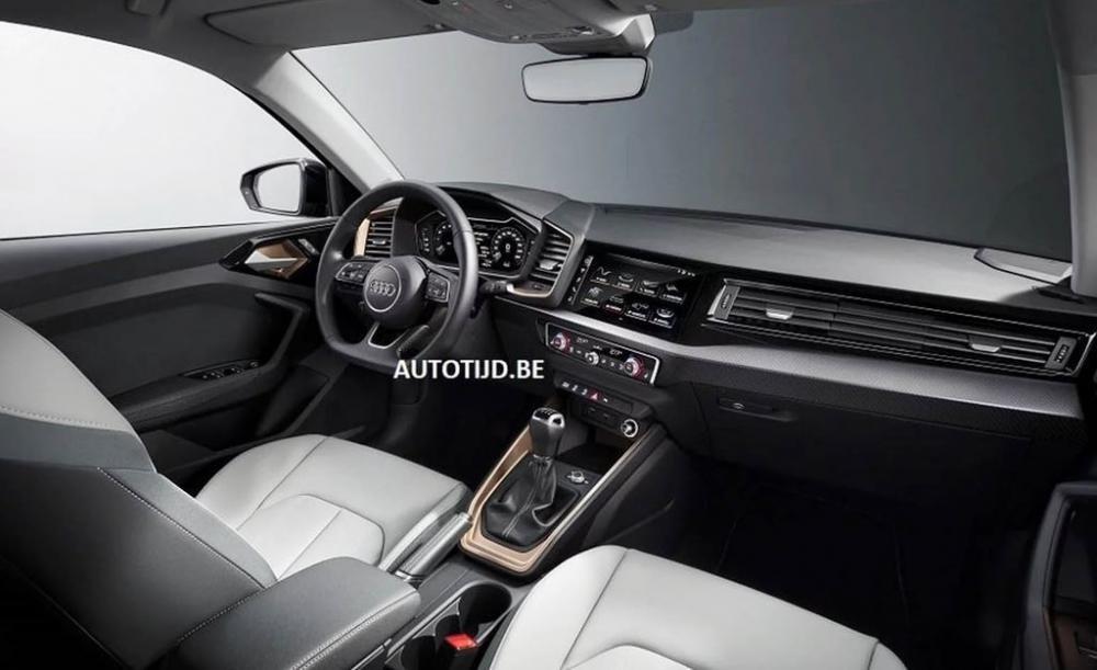 Audi A1 2019 lộ diện, sẵn sàng đấu với Mercedes-Benz A-Class 6.