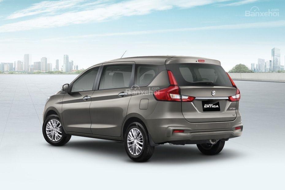 Đánh giá xe Suzuki Ertiga 2018: Đuôi xe.