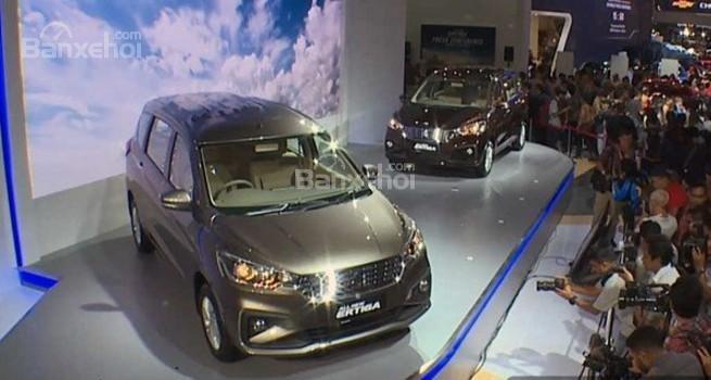 Đánh giá xe Suzuki Ertiga 2018: Mẫu MPV mới dự kiến sắp về Việt Nam.