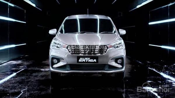Đánh giá xe Suzuki Ertiga 2018: Đầu xe.