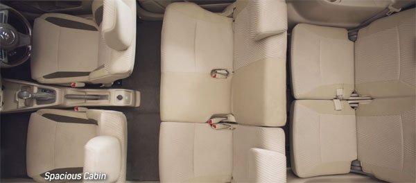 Đánh giá xe Suzuki Ertiga 2018: Ghế ngồi.