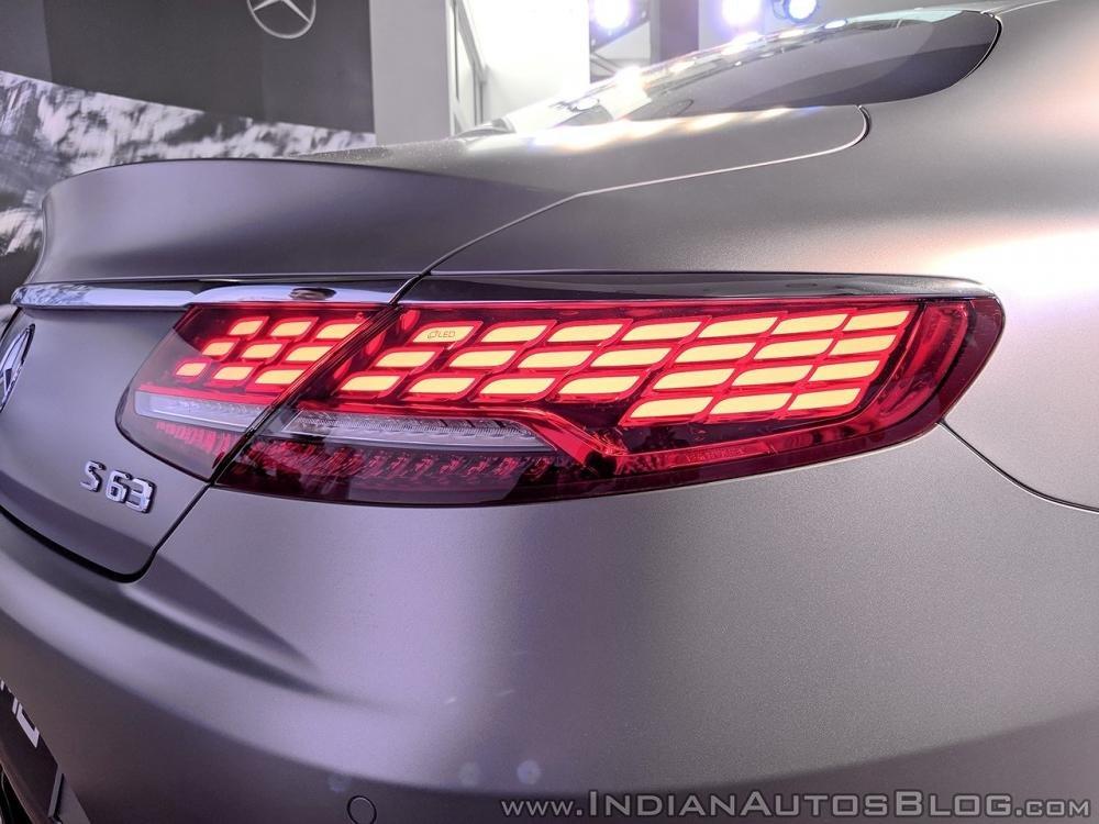 Mercedes-AMG S 63 Coupe 2018 chính thức ra mắt tại Ấn Độ