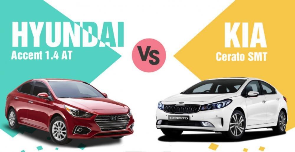 Cùng giá 499 triệu đồng, nên chọn Huyndai Accent 1.4AT hay Kia Cerato SMT? 1.