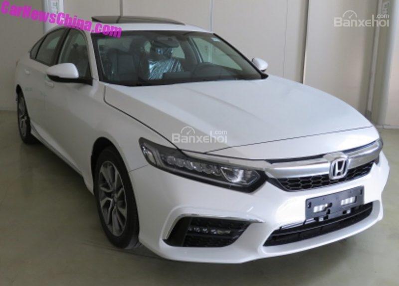 Honda Inspire - Bản Honda Accord đặc biệt dành riêng cho Trung Quốc