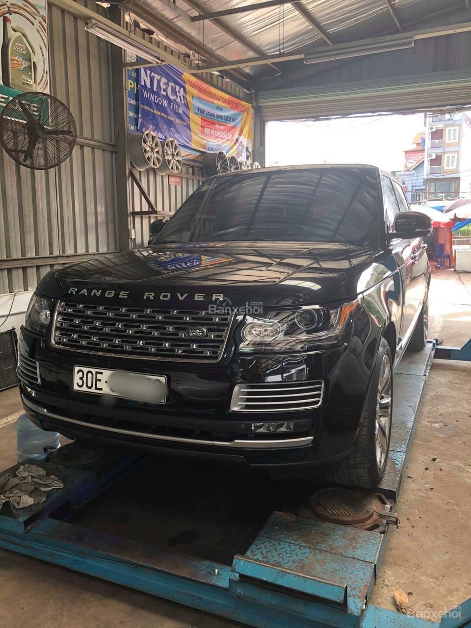 Bán ô tô LandRover Range Rover Black Edition 2015, bản giới hạn, xe đẹp (1)