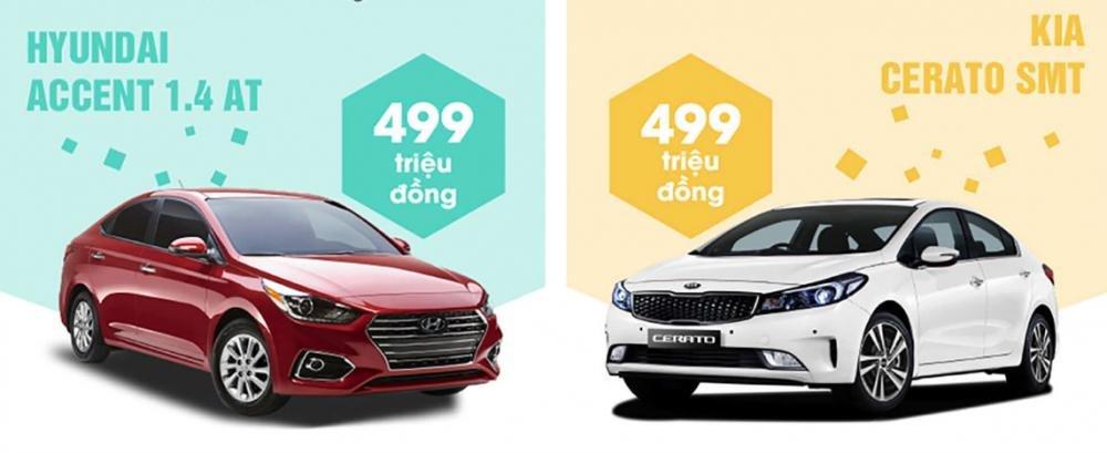 So sánh xe Hynndai Accent 1.4 AT 2018 và Kia Cerato SMT 2018 8.