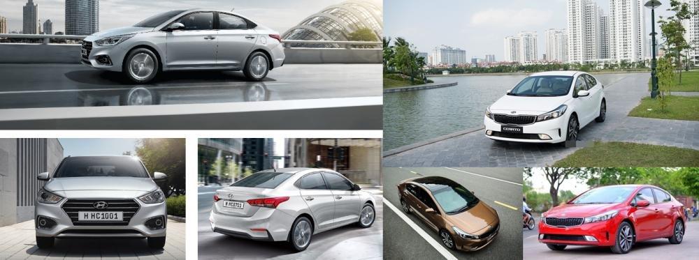 So sánh xe Hyundai Accent 1.4 AT 2018 hay Kia Cerato SMT 2018 về thiết kế 11.