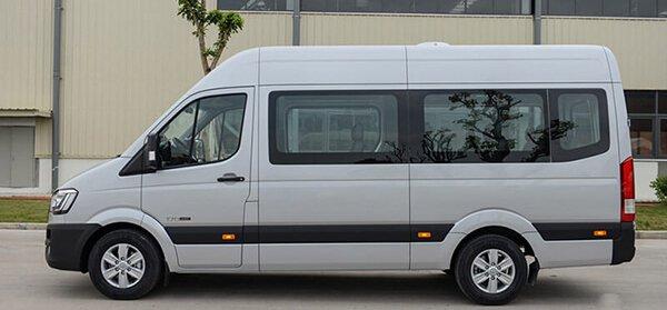 So sánh xe Ford Transit và Hyundai Solati về thân xe 3