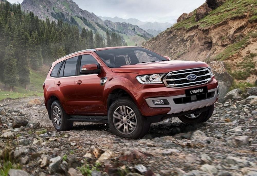 Đại lý nhận đặc hàng Ford Everest 2019 nhập Thái với giá từ 850 triệu đồng,,,
