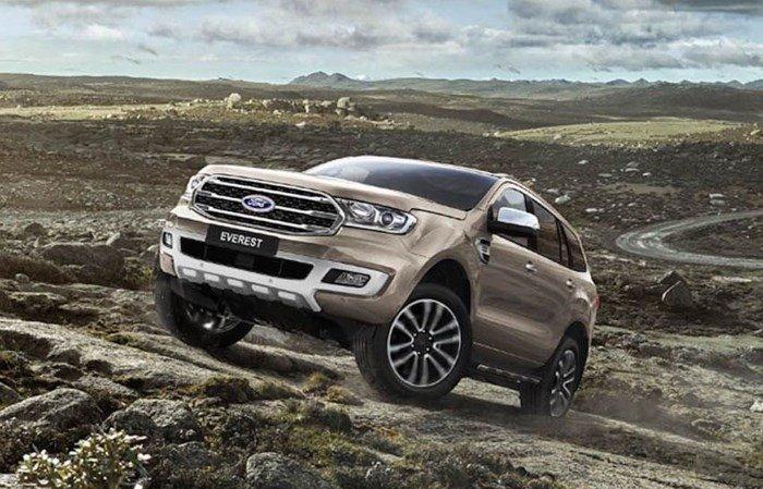 Đánh giá xe Ford Everest 2019 mới về động cơ..