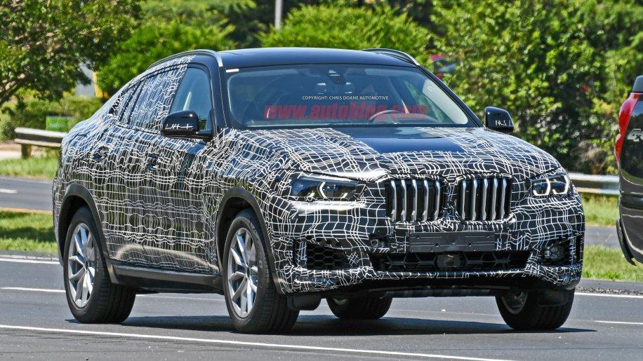 Đầu xe BMW X6 2020 mới z