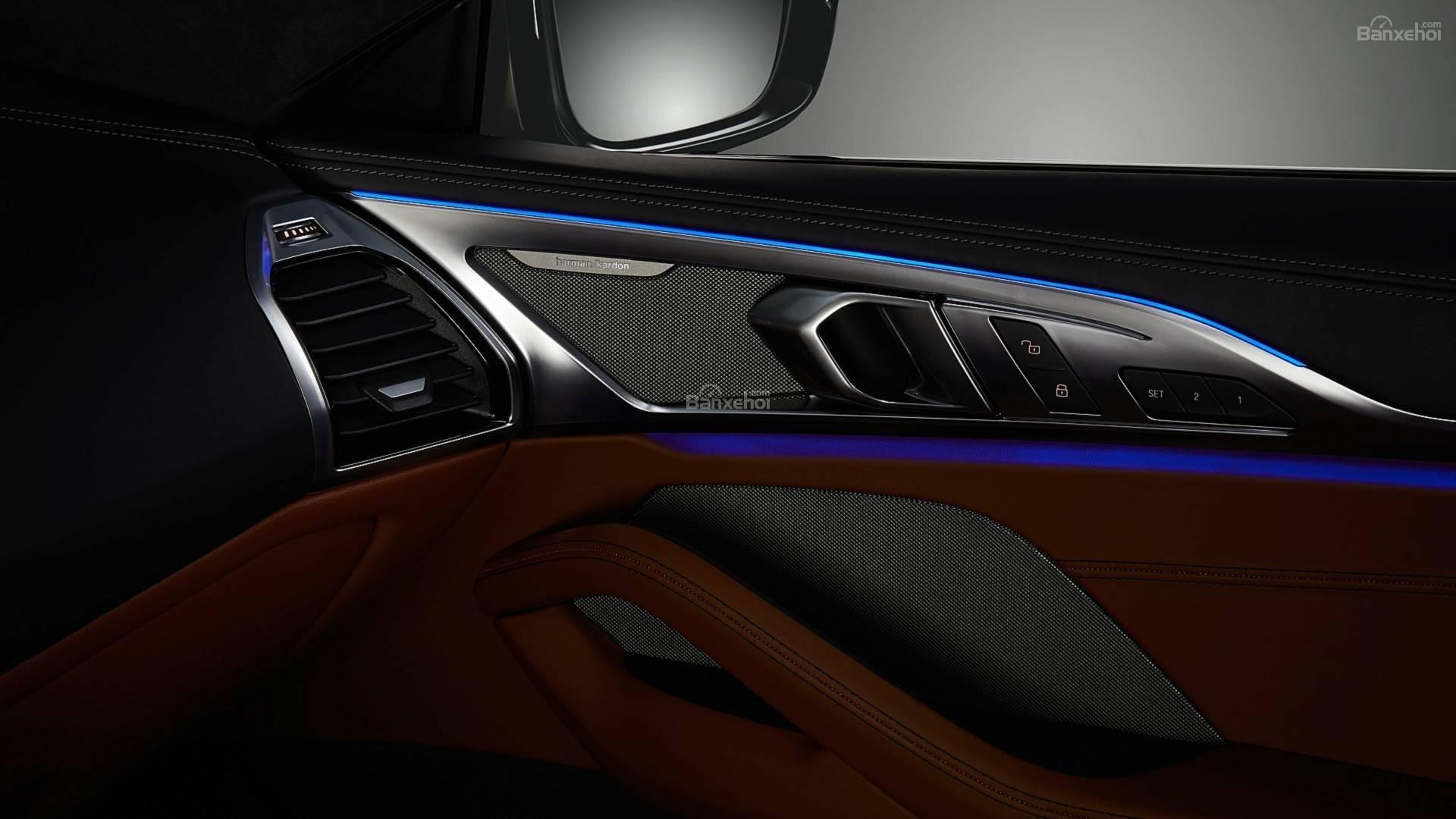 Đánh giá xe BMW 8-Series 2019 về trang bị tiện nghi 4a