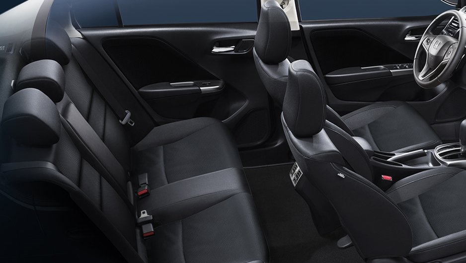 So sánh xe Toyota Vios 1.5G 2018 và Honda City 1.5 TOP 2018 về ghế ngồi 2.