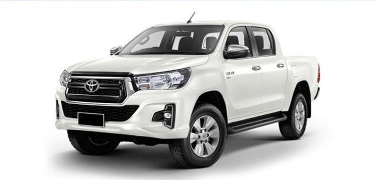 Phiên bản Toyota Hilux 2.4E 4x2 AT (MLM) mới.