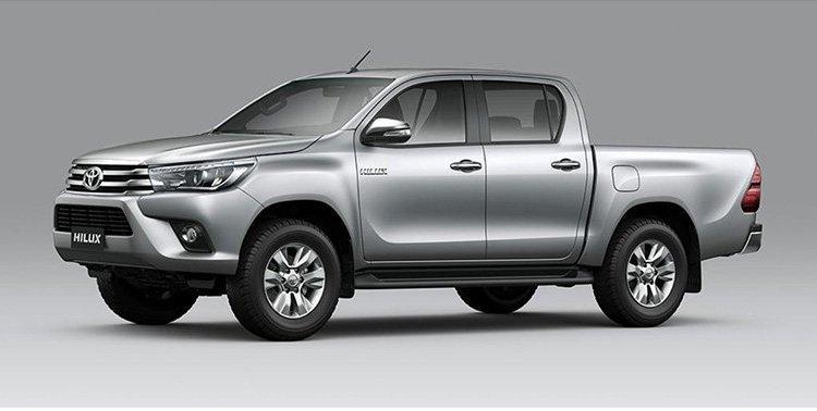 Phiên bản Toyota Hilux 2.4G 4x4 MT..