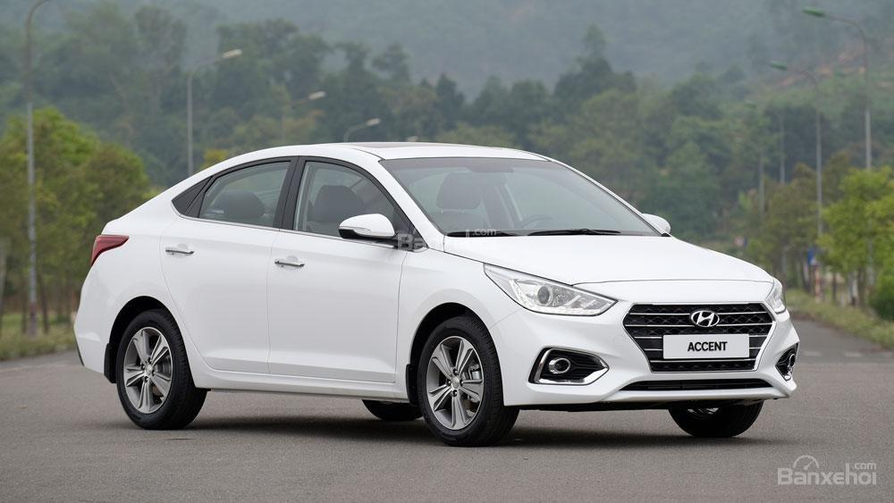 Giao xe ngay - Tặng phụ kiện - Chỉ 139tr- Hyundai Accent 1.4MT 2019, giá cực tốt, trả góp 85%, liên hệ 0933598285 (1)
