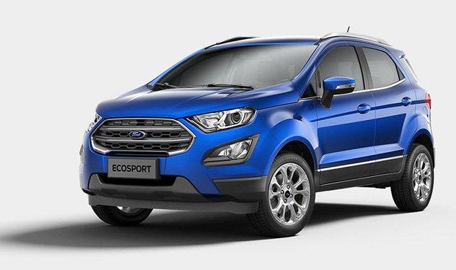 Ford Ecosport 2018 nâng cấp mới tại Việt Nam.