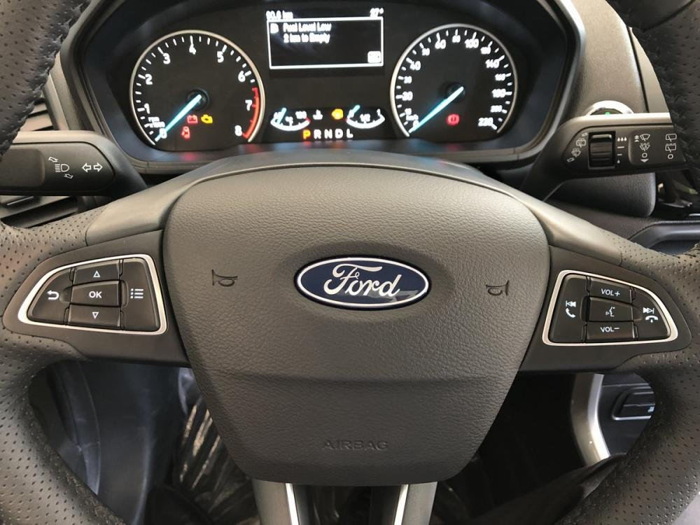 Đánh giá xe Ford EcoSport 1.0L Titanium 2018: Vô-lăng thể thao đa chức năng.