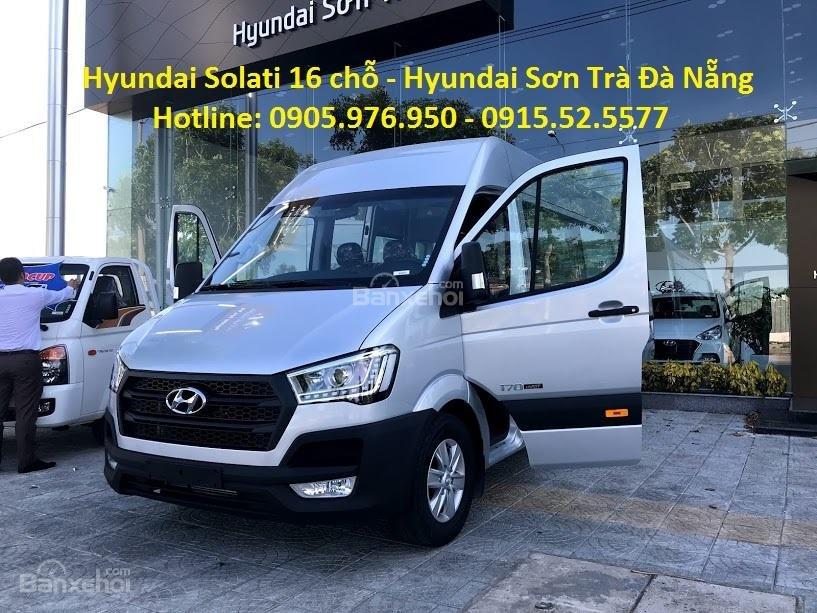 Cần bán xe Hyundai Solati năm sản xuất 2018, màu bạc, nhập khẩu, tặng nộp thuế trước bạ-0