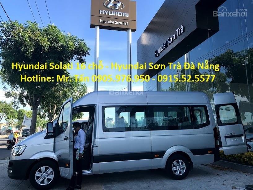 Cần bán xe Hyundai Solati năm sản xuất 2018, màu bạc, nhập khẩu, tặng nộp thuế trước bạ-1