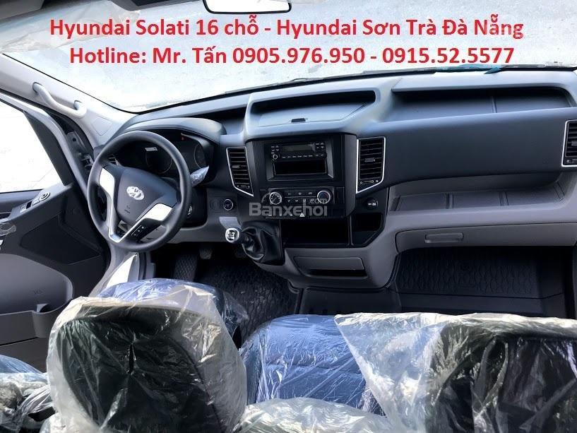 Cần bán xe Hyundai Solati năm sản xuất 2018, màu bạc, nhập khẩu, tặng nộp thuế trước bạ-11