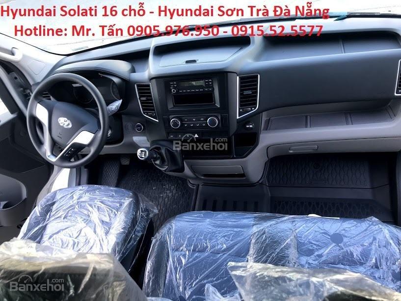 Cần bán xe Hyundai Solati năm sản xuất 2018, màu bạc, nhập khẩu, tặng nộp thuế trước bạ-12