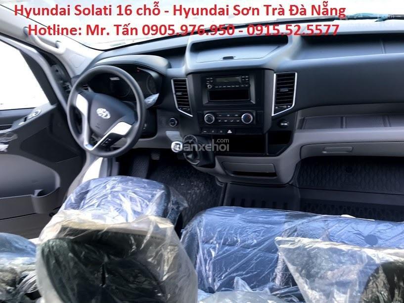 Cần bán xe Hyundai Solati năm sản xuất 2018, màu bạc, nhập khẩu, tặng nộp thuế trước bạ-13