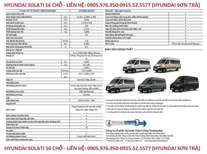 Cần bán xe Hyundai Solati năm sản xuất 2018, màu bạc, nhập khẩu, tặng nộp thuế trước bạ-17