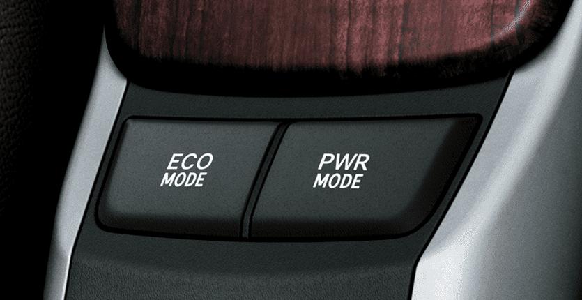 Chế độ lái Eco và Power trên Toyota Fortuner 2018 máy dầu số tự động 2 cầu 2.8V 4x4 AT  1