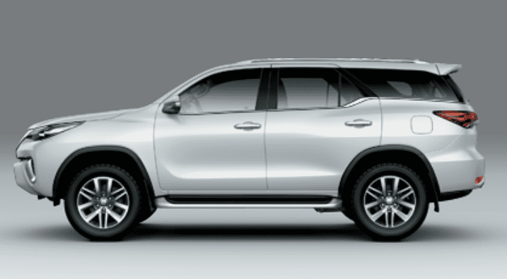 Đánh giá xe Toyota Fortuner 2018 máy dầu số tự động 2 cầu 2.8V 4x4 AT về phần thân 1