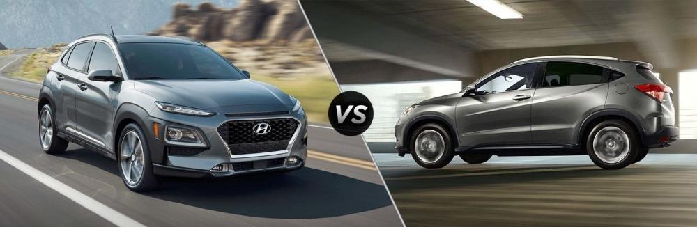 Phân khúc SUV đô thị: Hyundai Kona và Honda HR-V 2018 đổ bộ, đe dọa Ecosport.
