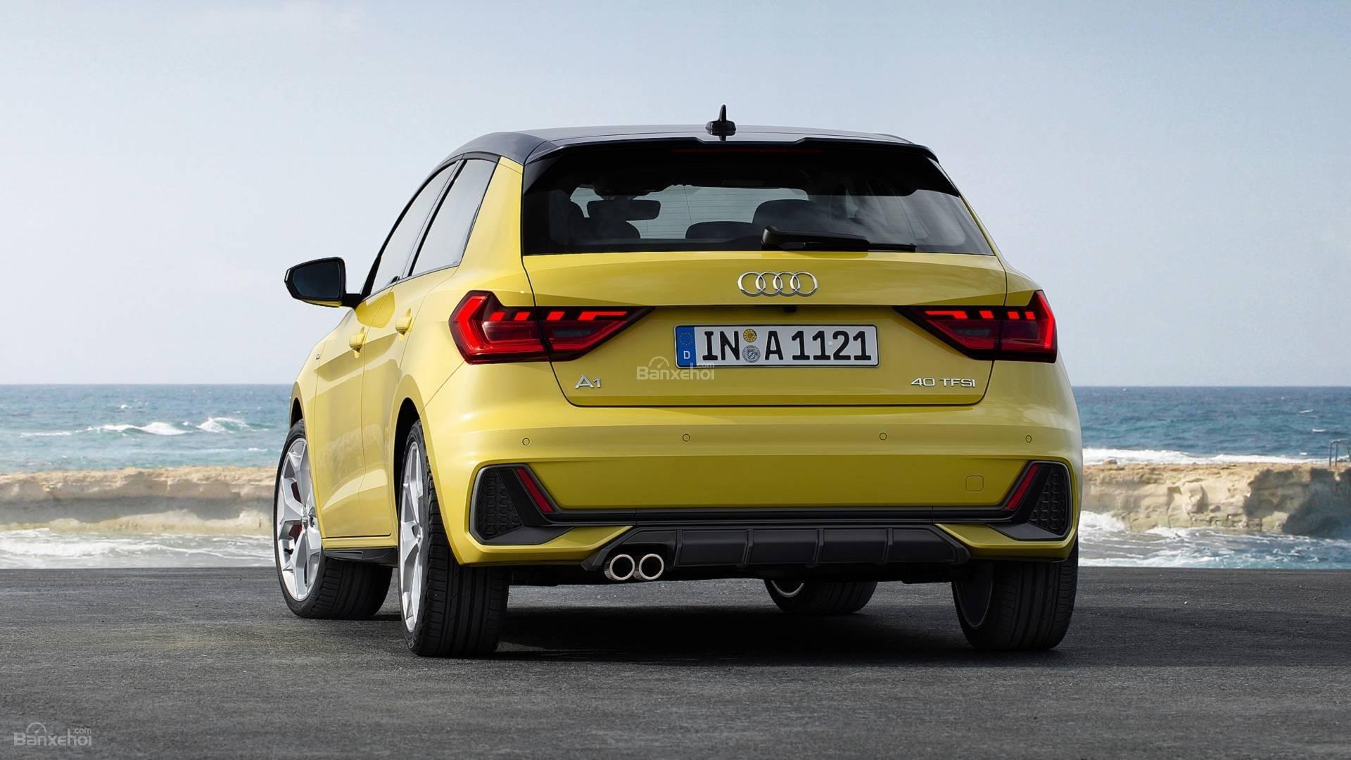 Đánh giá xe Audi A1 2019