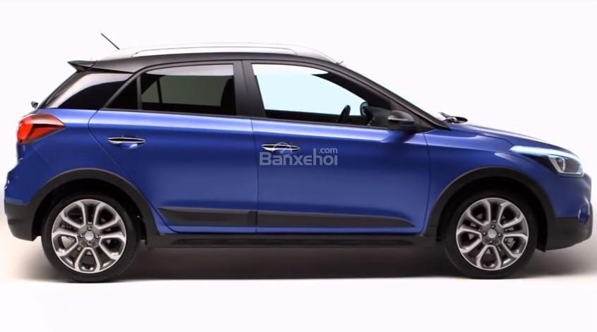 Đánh giá xe Hyundai i20 Active 2018: Thân xe.