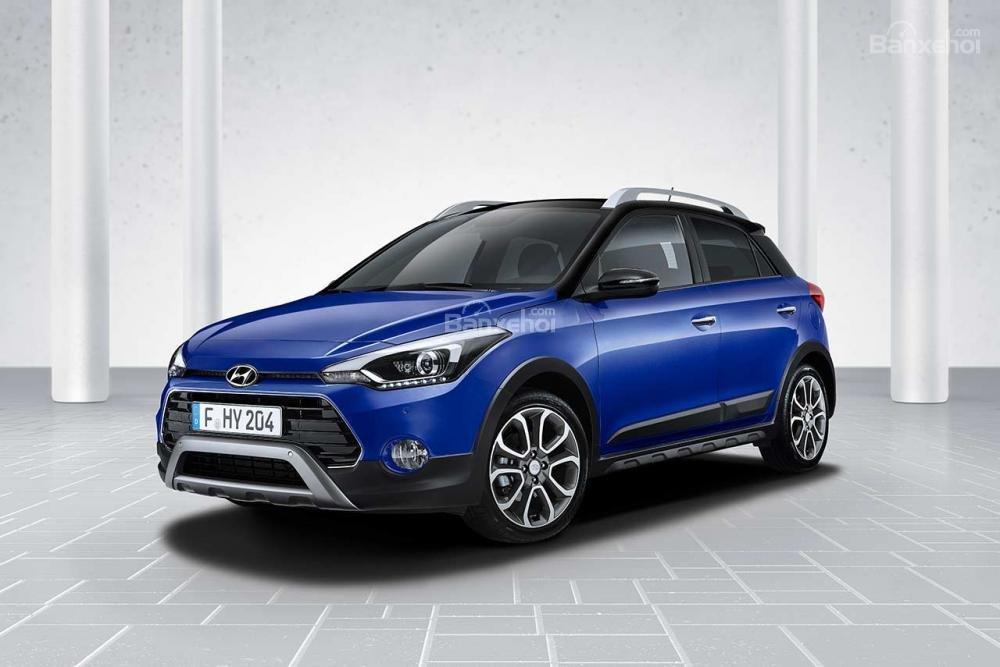 Đánh giá xe Hyundai i20 Active 2018 nâng cấp bản châu Âu.