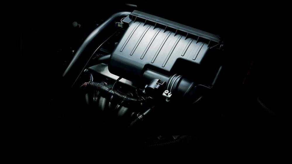 Mitsubishi Attrage 2018 CVT đều sử dụng động cơ xăng MIVEC 3 xy-lanh, 1.2L 1