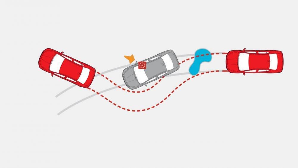 Đánh giá xe Mitsubishi Attrage 2018 CVT: Hệ thống bó cứng phanh ABS 1
