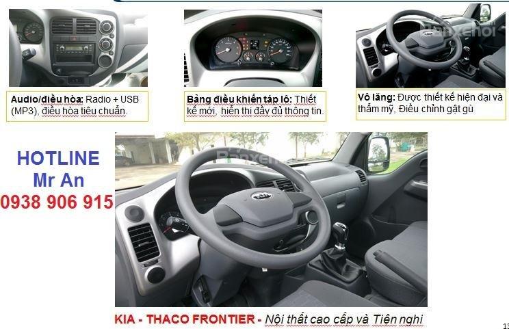 Cần bán xe Thaco KIA K250 đời 2019 tải trọng 2T4, giá chỉ 375 triệu hỗ trợ trả góp, L/H 0938.906.915 (2)