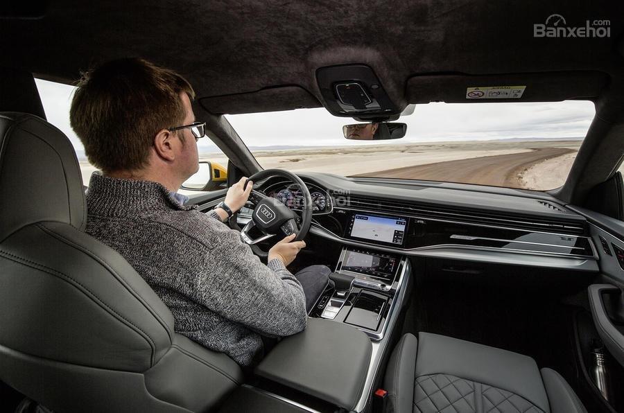 Đánh giá xe Audi Q8 2019 - vận hành - 2