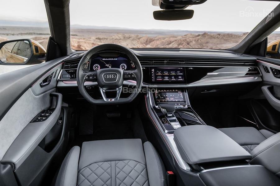 Đánh giá xe Audi Q8 2019 - nội thất - 1