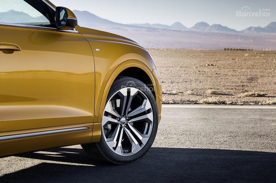 Đánh giá xe Audi Q8 2019 - Thân - 3