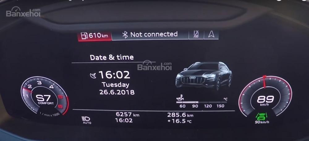 Đánh giá xe Audi Q8 2019 - tiện nghi - 5