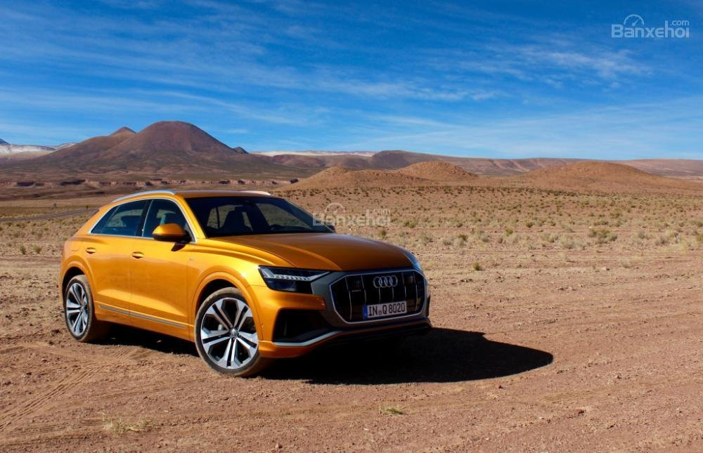 Đánh giá xe Audi Q8 2019 - Thân - 2