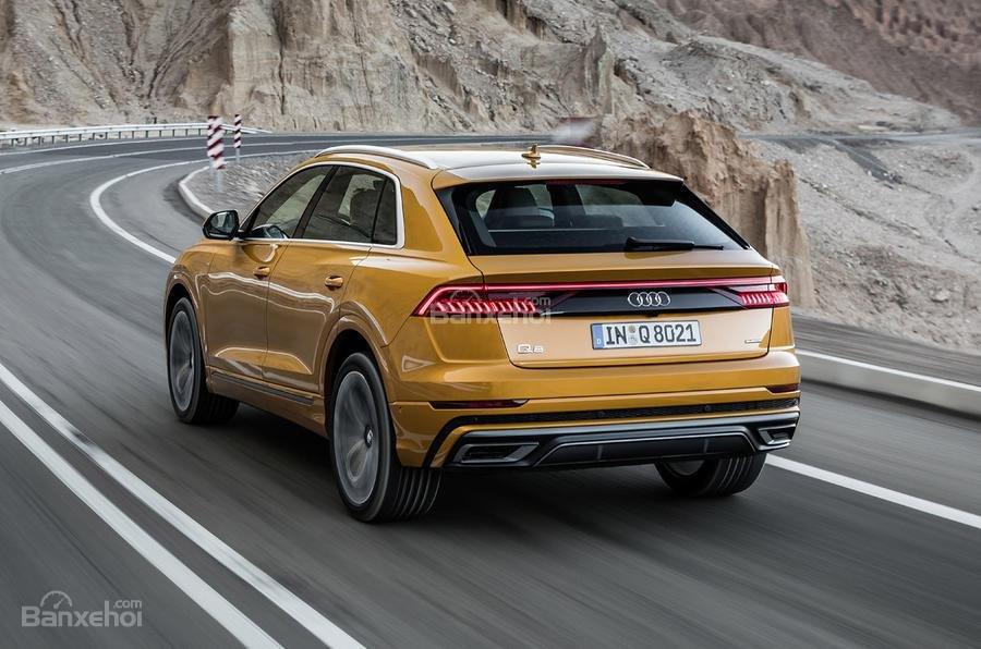 Đánh giá xe Audi Q8 2019 - Đuôi - 1
