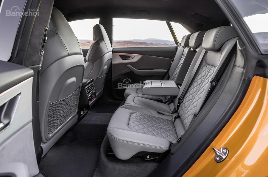 Đánh giá xe Audi Q8 2019 - nội thất - 2
