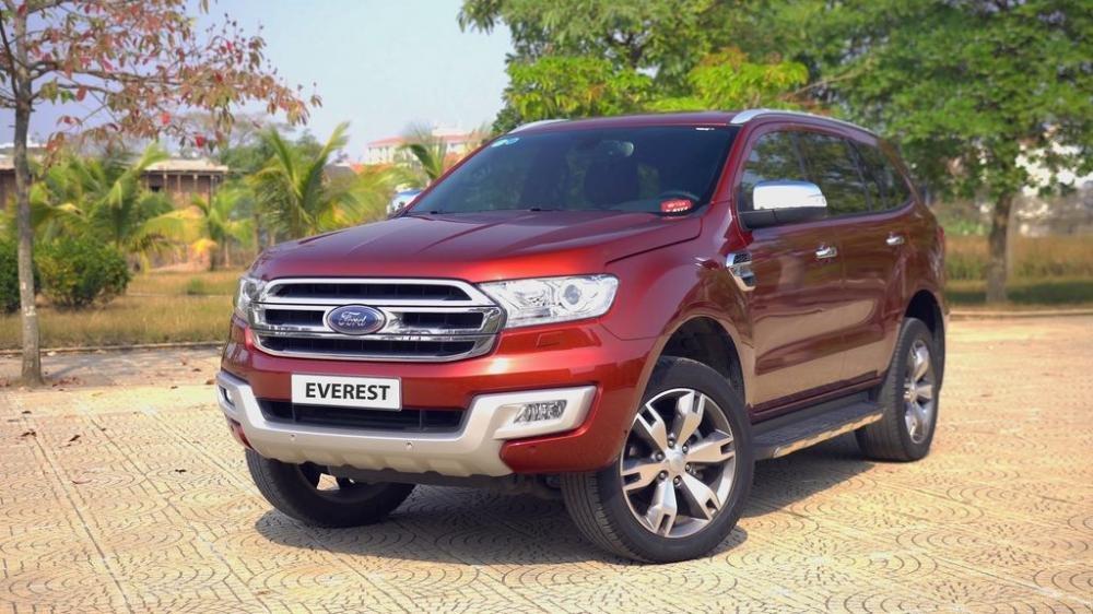 Ưu điểm của Ford Everest cũ