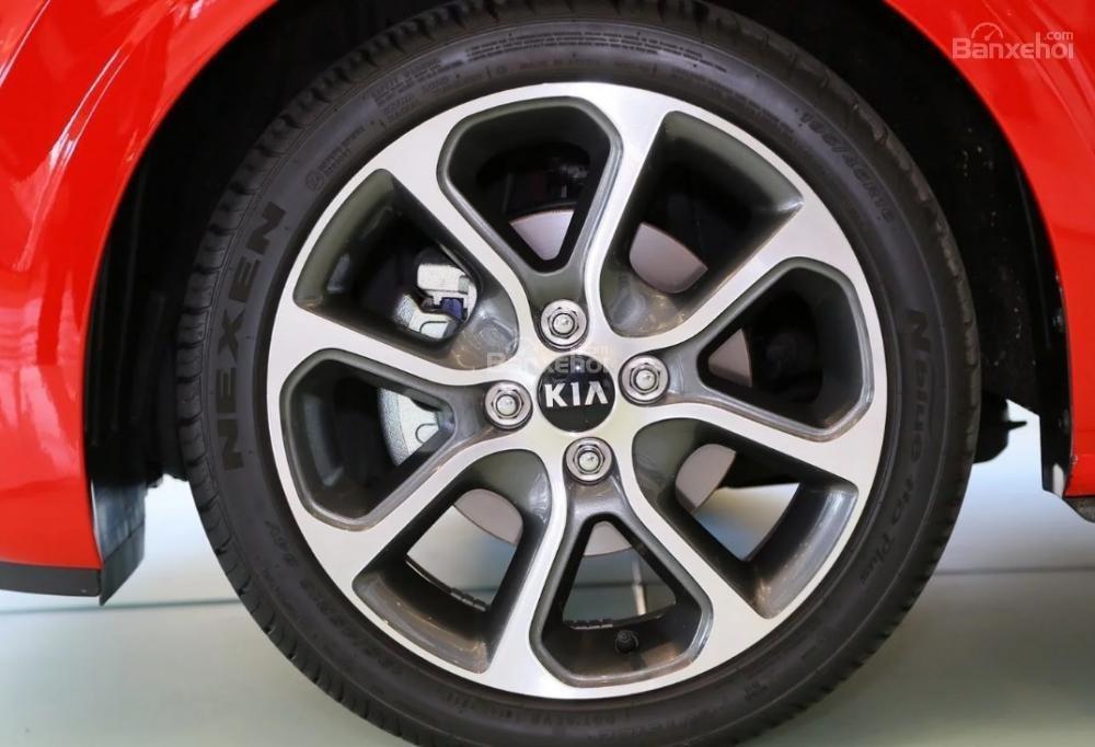 Đánh giá xe Kia Morning 2018: Mâm 14 inch.