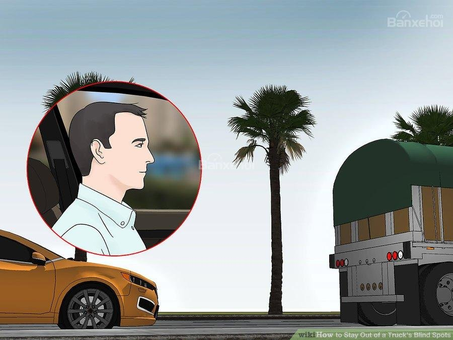Điểm mù xe tải