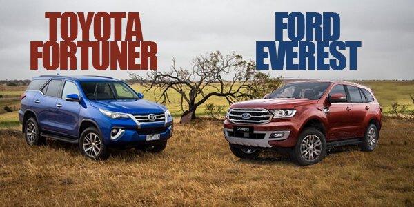 Cùng 1,3 tỷ, nên chọn Ford Everest 2018 sắp về Việt Nam hay Toyota Fortuner 2018 mới?.