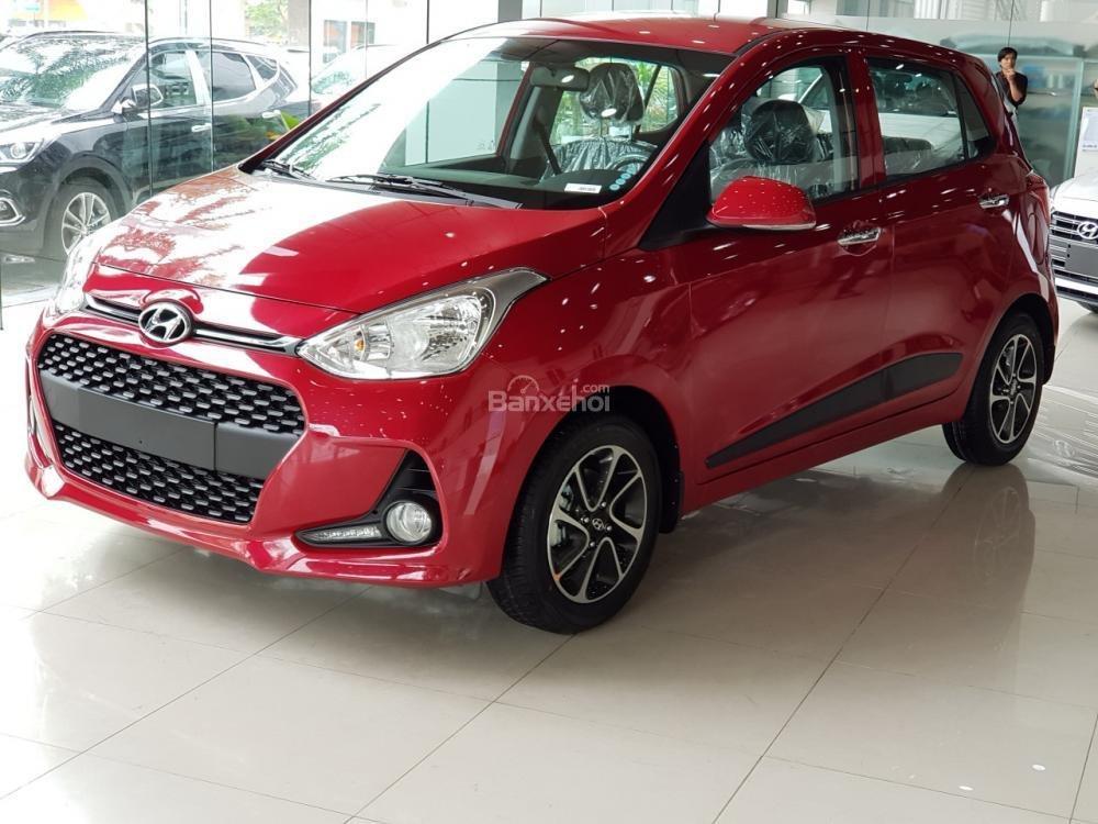 Hyundai Hà Đông hỗ trợ mua xe Hyundai Grand i10-trọn gói chỉ với 100tr, xe đủ màu giao ngay trong ngày-LH 0981476777-0